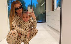 Kylie Jenner And Stormi Webster Are Twinning In Marine Serre Futurewear