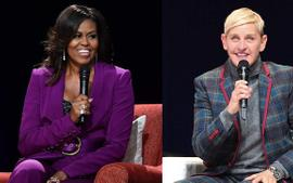 Ellen DeGeneres Sends Michelle Obama Her 'Condolences' Over Daughters Malia And Sasha Coming Back From College Amid The Coronavirus Pandemic