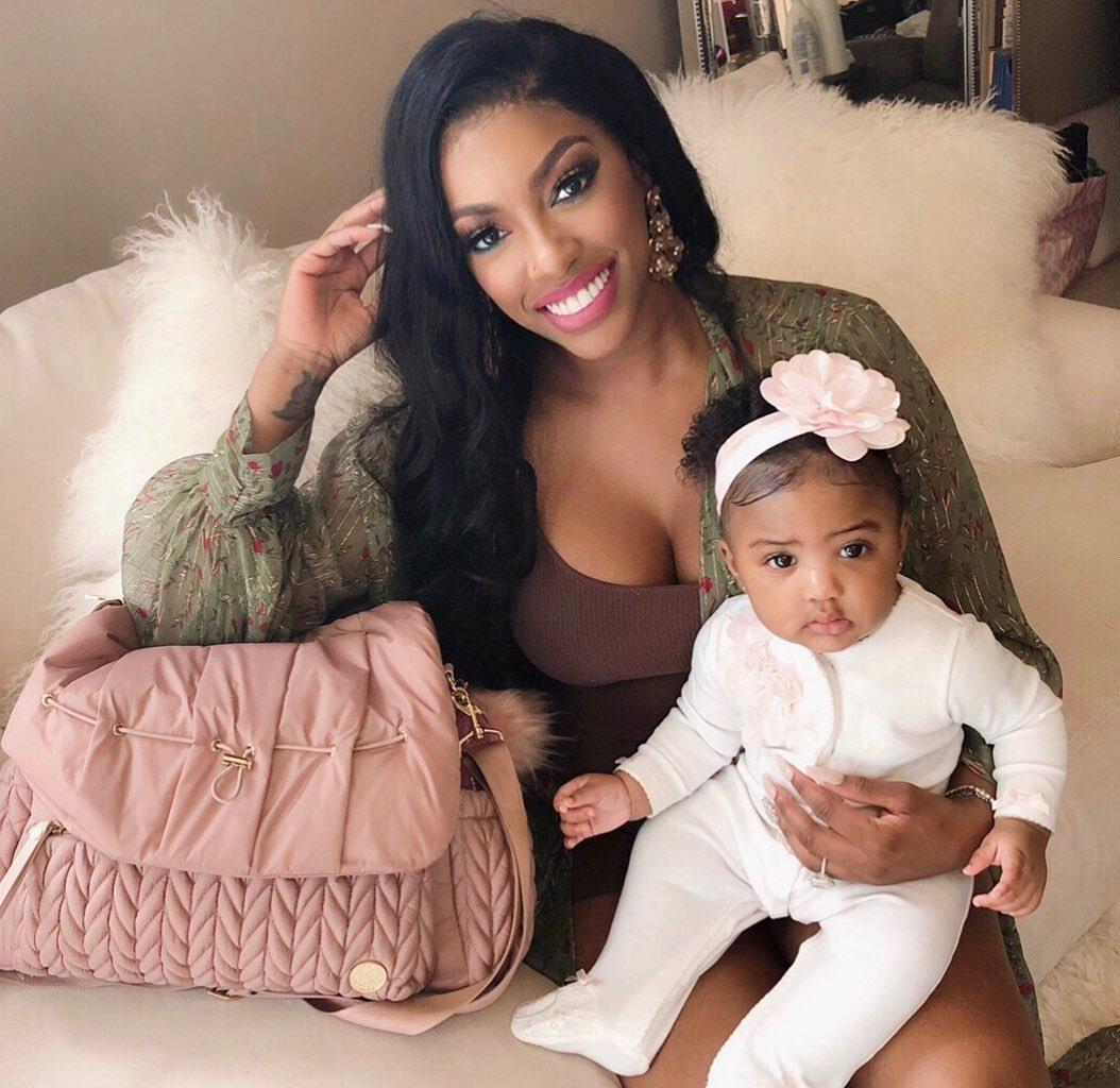 Porsha Williams Shares A Video With Baby PJ Terrorizing Her And Fans Are In Awe