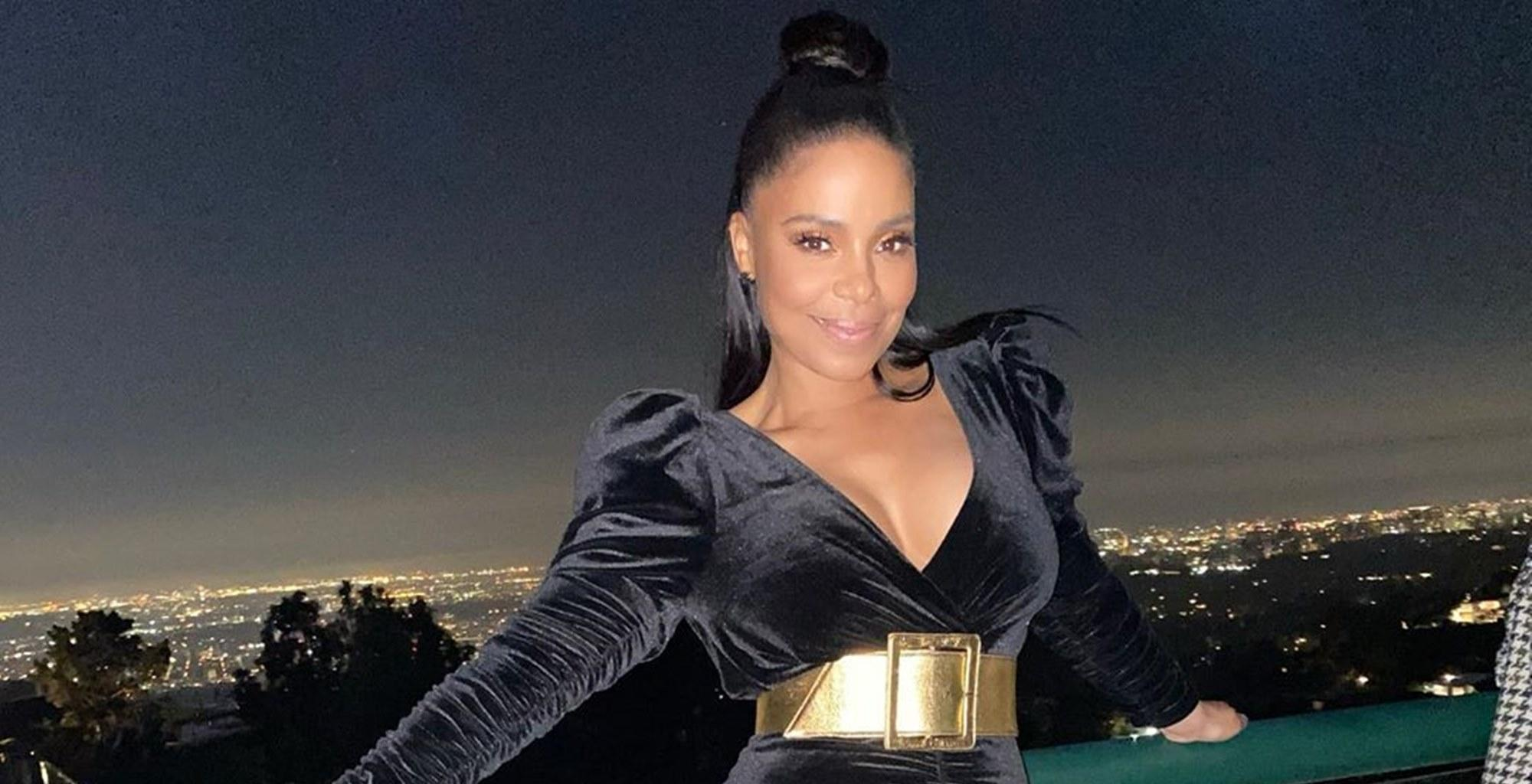 Sanaa Lathan Shows Off Her Gorgeous Natural Hair In New Photos Two Years After Shaving Her Head Bald For 'Nappily Ever After' Movie