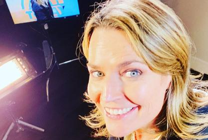 Savannah Guthrie Streams The Today Show From Her Basement After Falling Ill During Coronavirus Pandemic