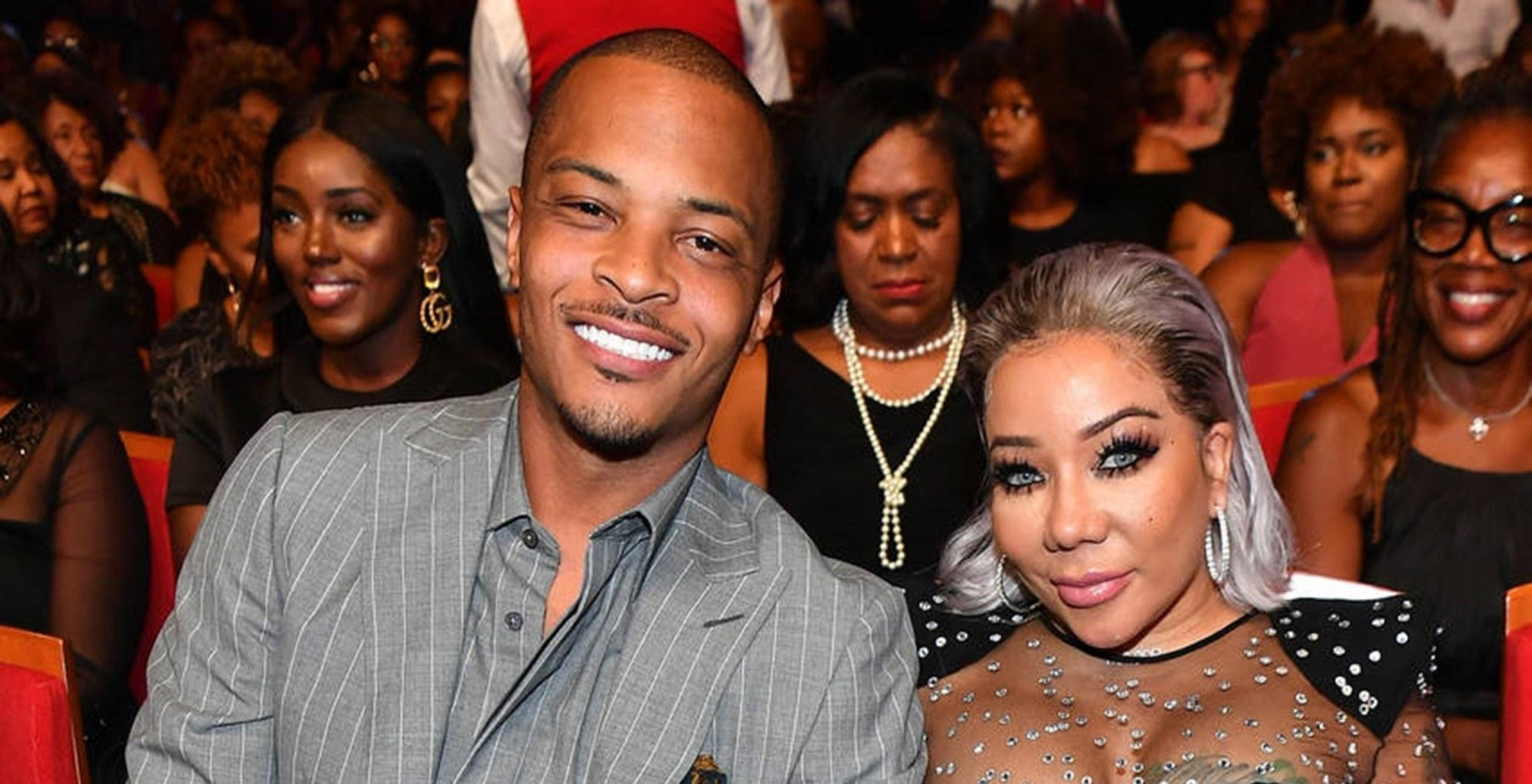 T.I. Is Mocked For Looking Like A Grandfather In This Video With Wife Tiny Harris