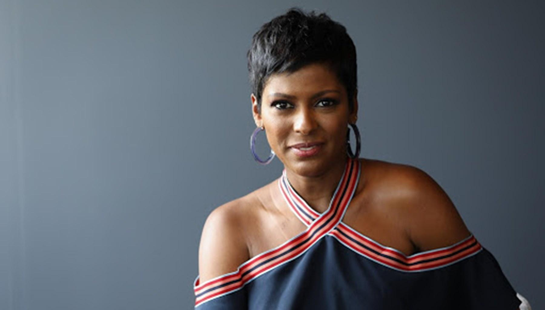 Tamron Hall Shares A Photo Where She Is Being A Supermom To Baby Moses; But Her Fans Sparked A Debate For This Reason