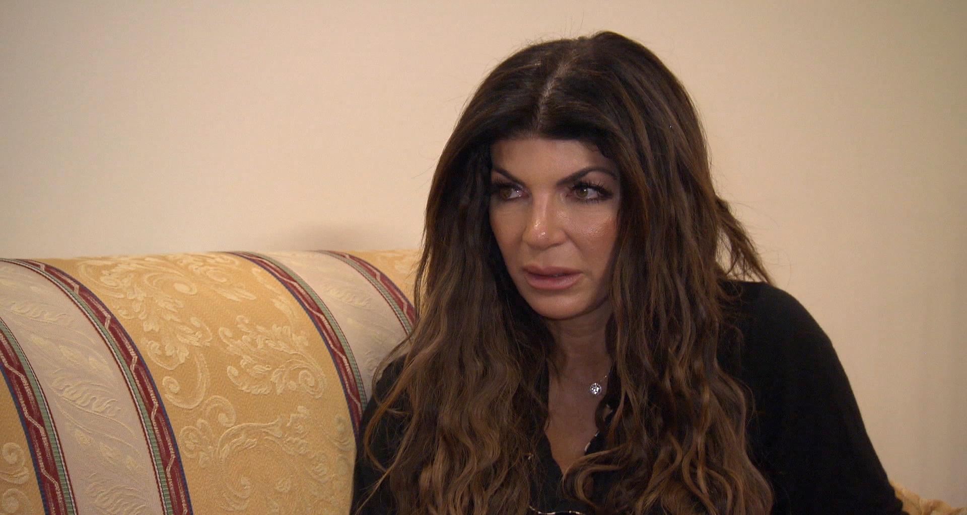Teresa Giudice Reportedly Feels 'Embarrassed' Now That The Whole Hair Pulling Incident Has Aired On RHONJ!