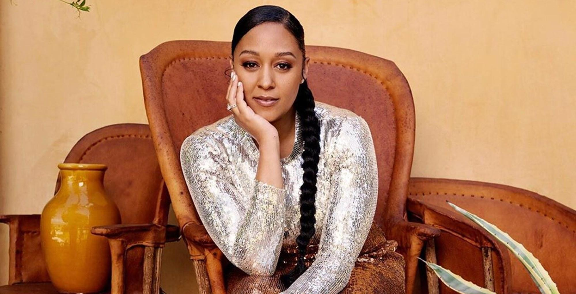Tia Mowry And Her Daughter, Cairo, Wear Matching Lemon Pajamas In New Photo And Give Fans The Most Adorable Family Moment Ever