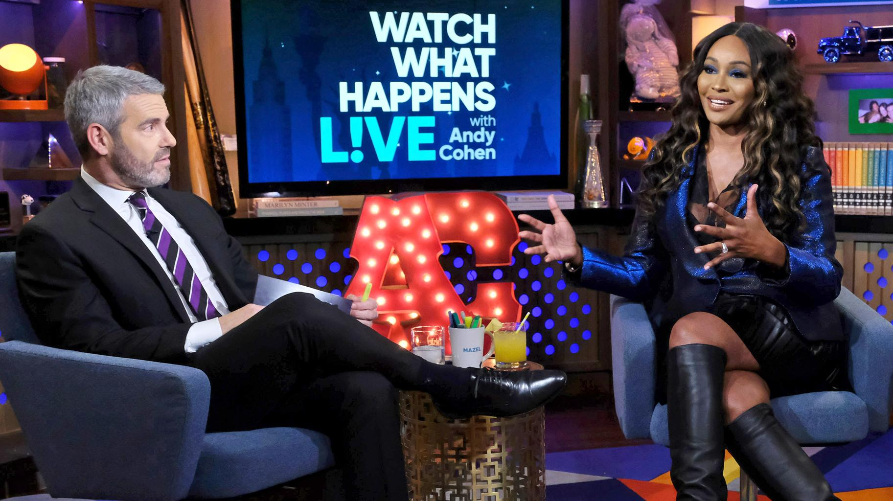 Cynthia Bailey Addresses Andy Cohen's Coronavirus Diagnosis - She And Other RHOA Ladies Who Were Guests On His Show Are In Danger