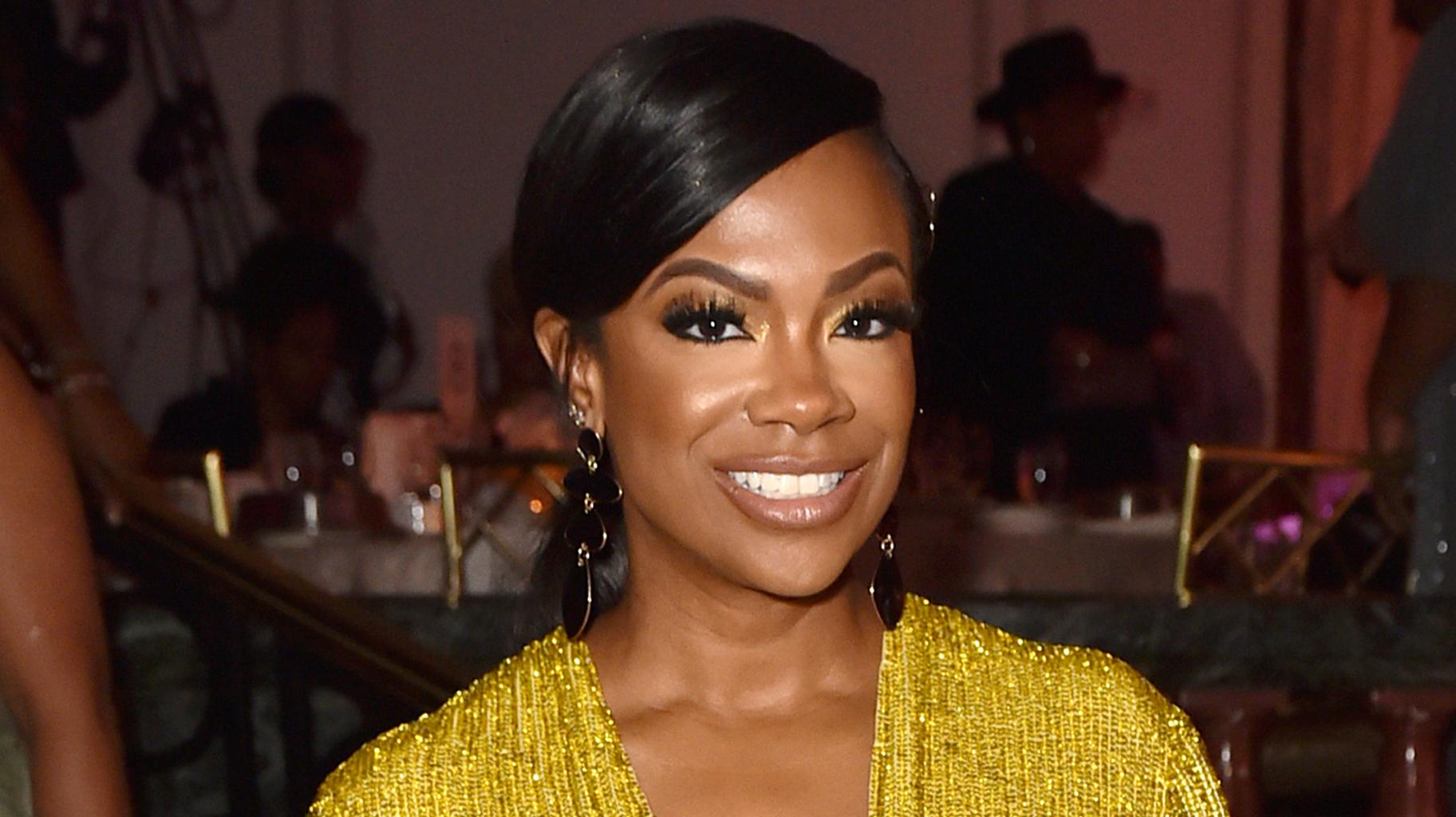 Kandi Burruss Shows Fans That She Can Still Smile During These Stressful Times