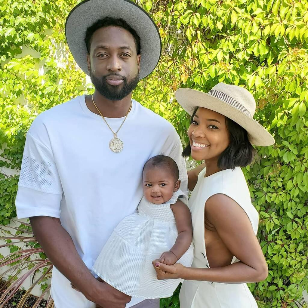 Dwyane Wade's Latest Photo Featuring Kaavia James Has Fans Smiling