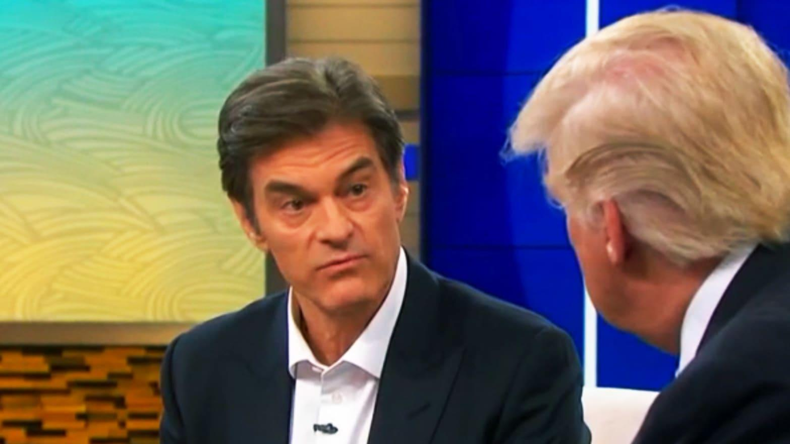 Dr. Oz Responds To Donald Trump's Claims That The Quarantine Will Be Over By Easter - 'There's No Way!'