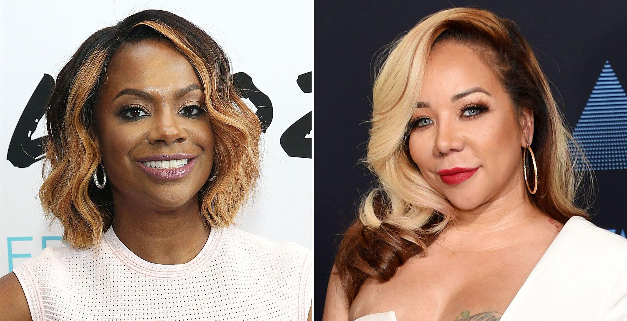 Kandi Burruss' Comment She Left On Tiny Harris' Page Involving The Passing Of Lisa Left Eye Triggers A Massive Debate Among Fans
