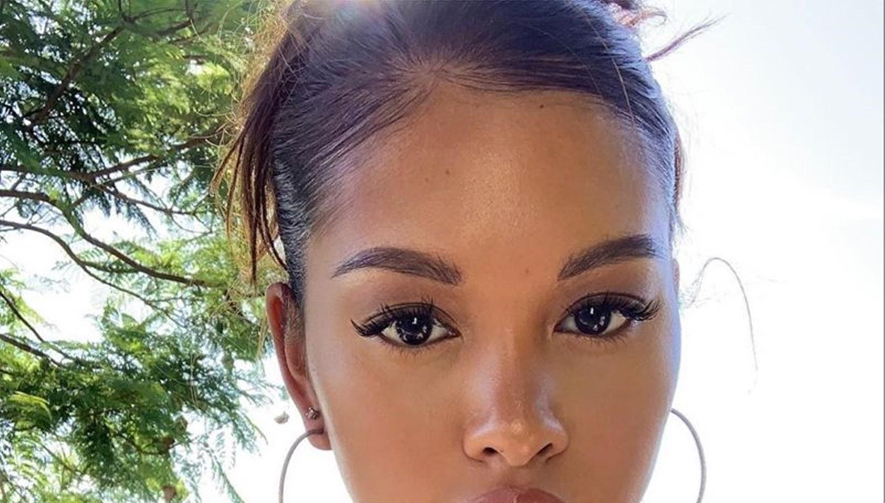 Chris Brown's Baby Mama, Ammika Harris, Says She Is Married In Sweet Video Where She Shows Off Her Husband Leaving Some Fans Confused