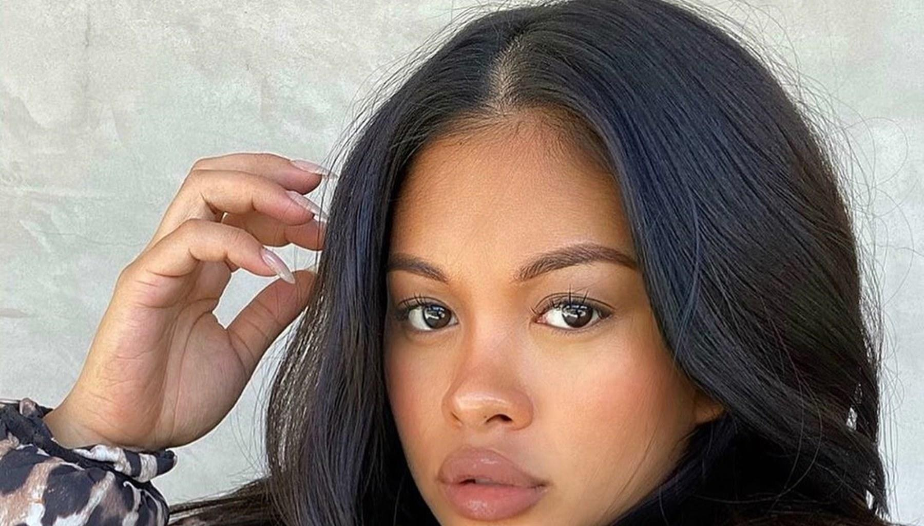 Chris Brown's Baby Mama, Ammika Harris, Is Accused Of Stealing Karrueche Tran's Look With Her Latest Sizzling Photos