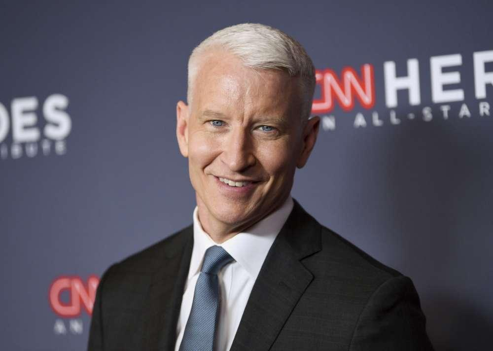 Anderson Cooper Reveals He Cut His Own Hair And Left A Bald Spot