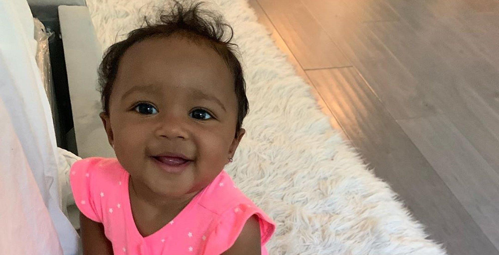 Kenya Moore's Baby Girl, Brooklyn Daly, Takes Her Mini Toilet For A Test Run