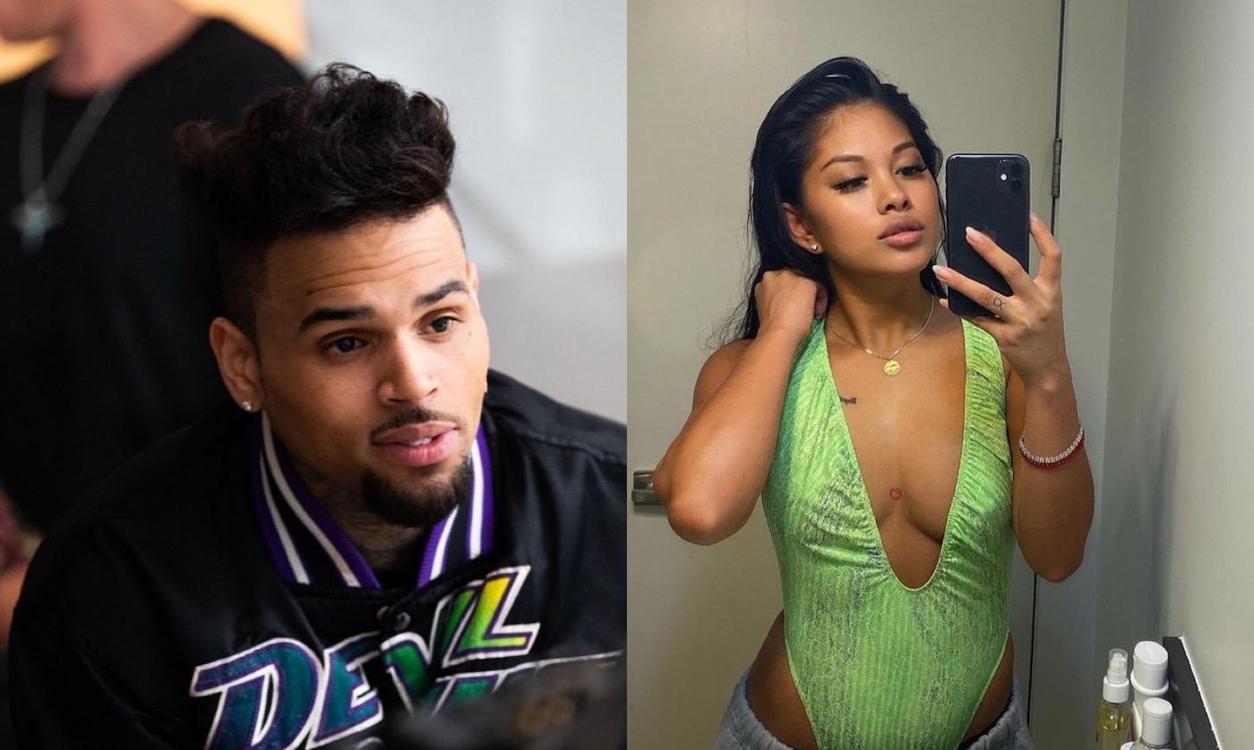 Ammika Harris' Recent IG Post Hints At Chris Brown's Latest Musical Project