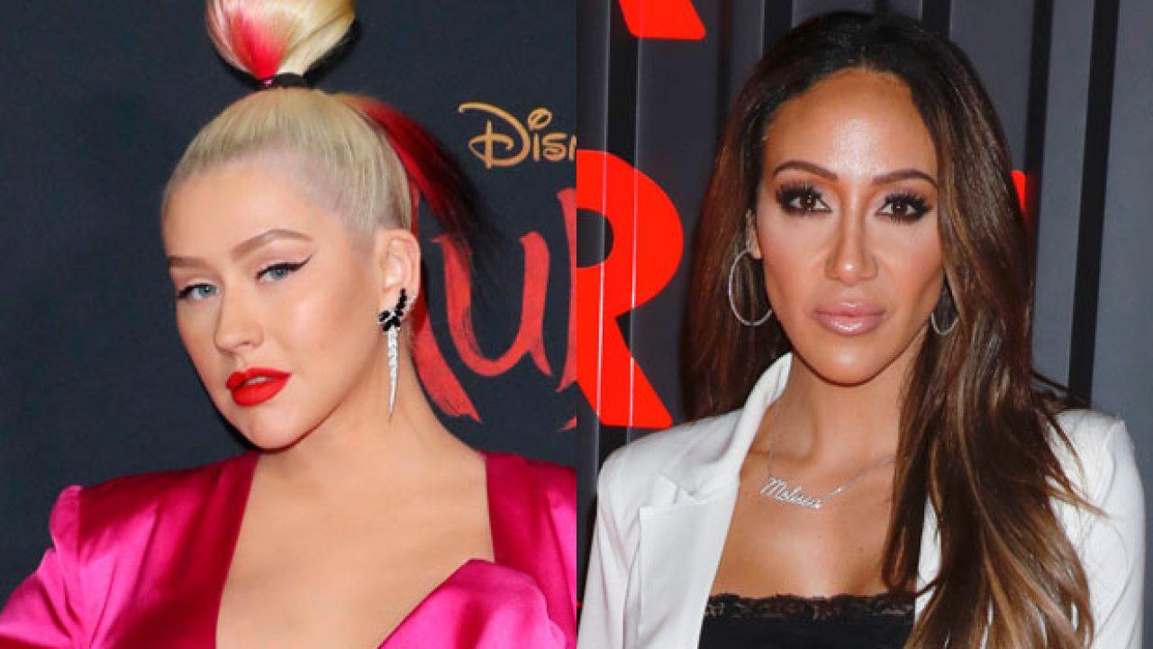 Christina Aguilera Gushes Over Melissa Gorga's Singing Skills After Posting THIS Video - Compares Her To Mariah Carey!