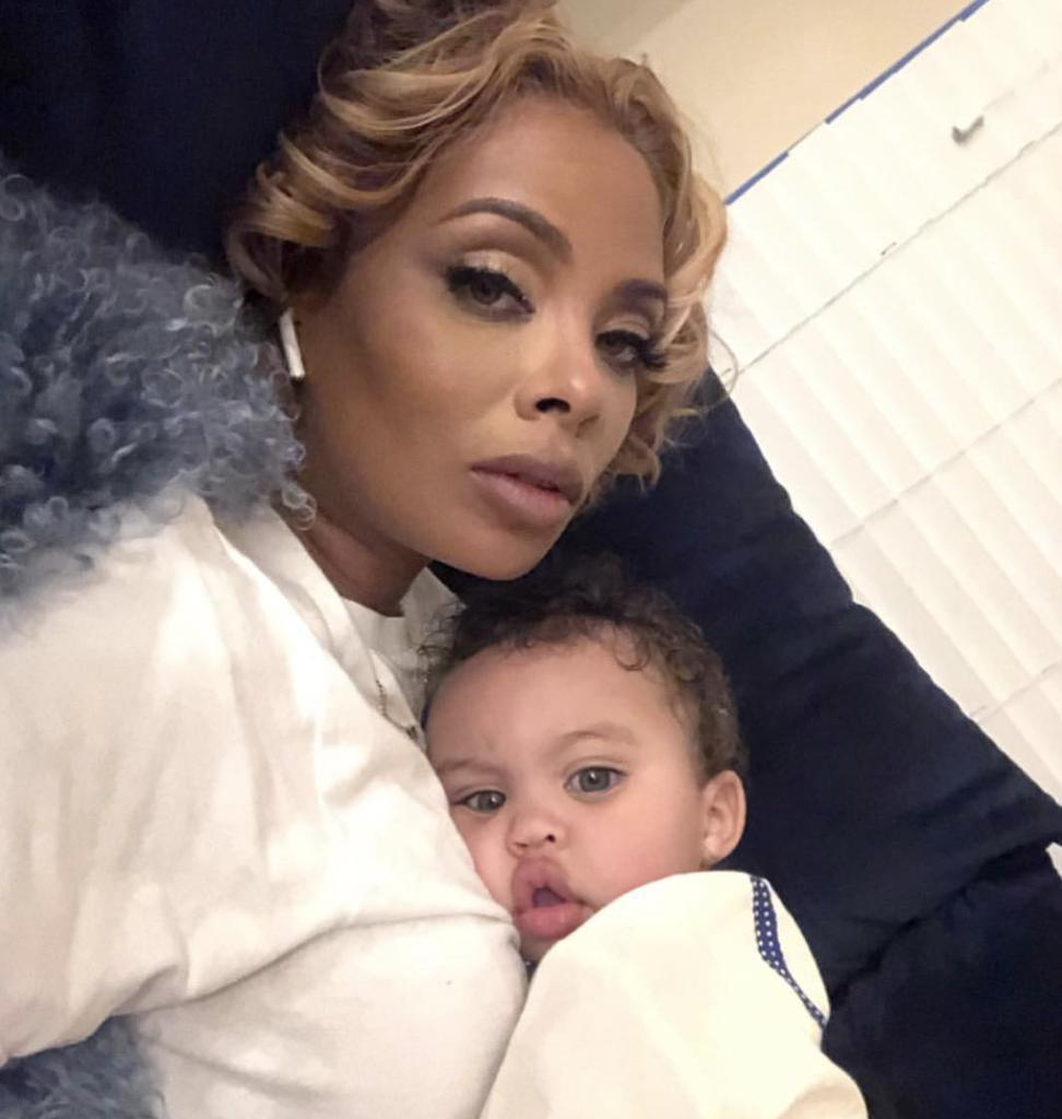 Eva Marcille's Latest Pics With Her Living Doll-Like Son, Mikey Have Fans Melting