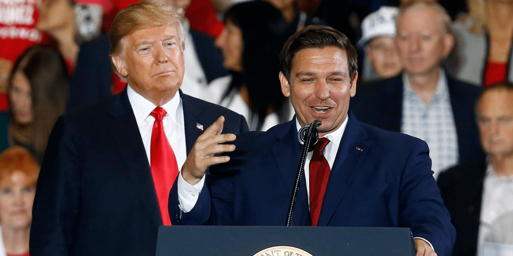President Donald Trump Weighs In On Florida Gov. Ron DeSantis's Decision To Reopen Schools Despite The Fact That More Than 16,000 People Are Infected In The State