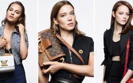 Emma Stone, Alicia Vikander, And Léa Seydoux Model Louis Vuitton Handbags