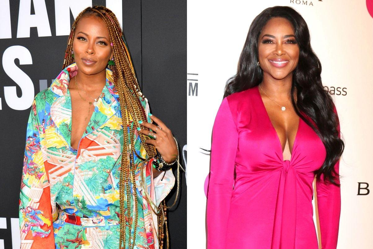 Eva Marcille Supports Kenya Moore And Presents National Infertility Week