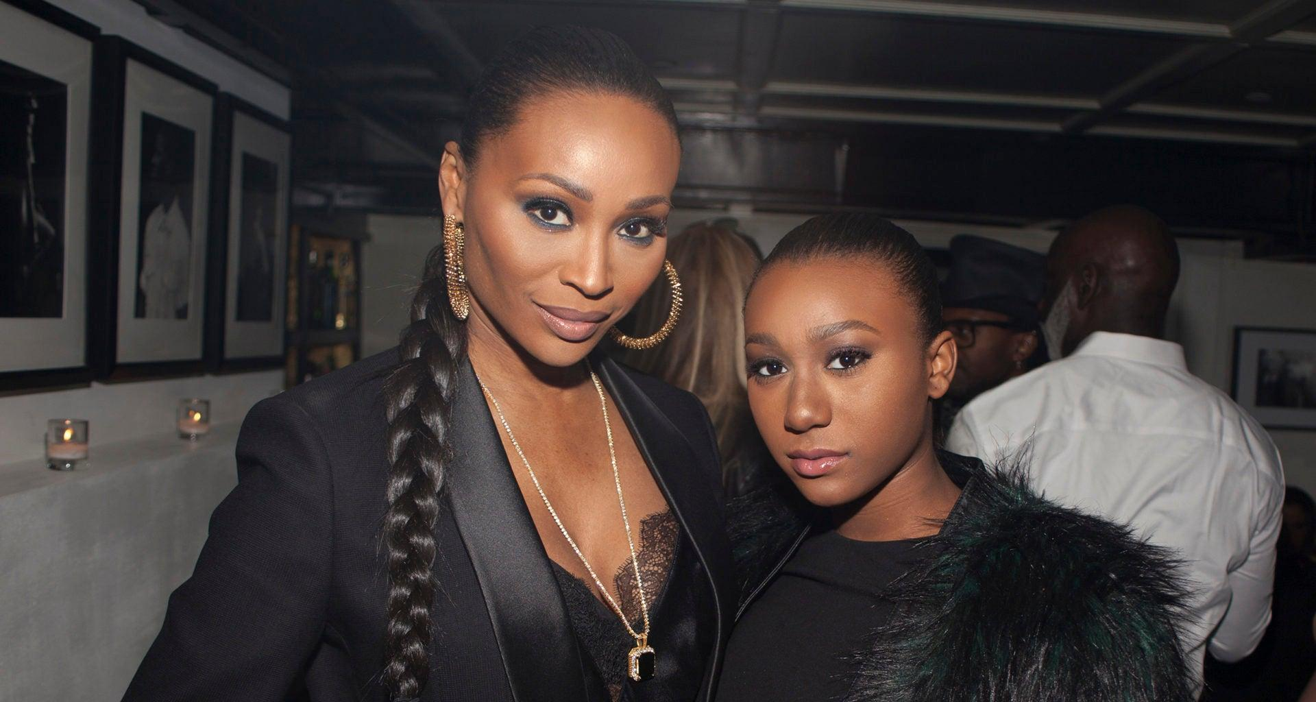 Cynthia Bailey Films Another Video With Her Daughter, Noelle Robinson