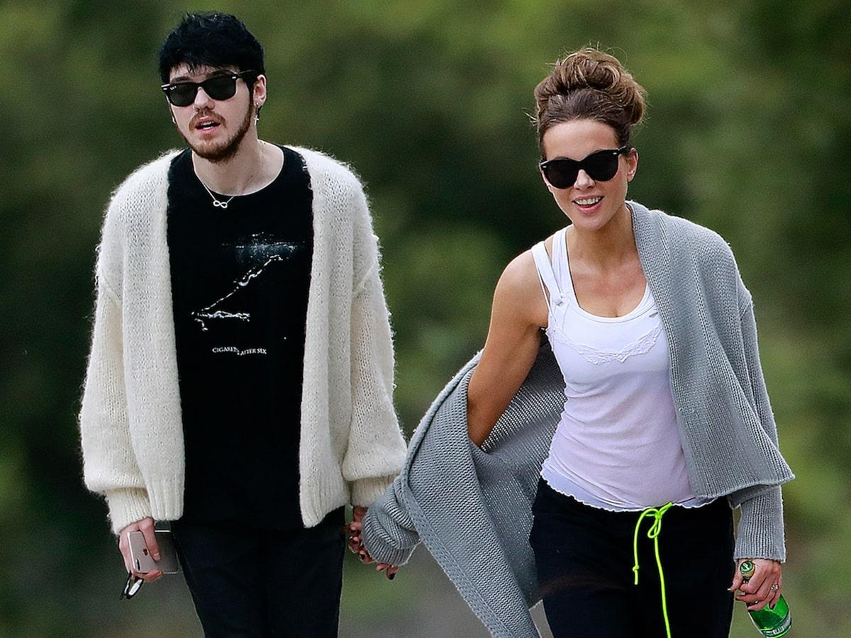 Kate Beckinsale And Much Younger Singer Goody Grace Pictured Holding Hands!