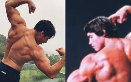 Joseph Baena Proves He Is His Father's Son — Looks Just Like Arnold Schwarzenegger In New Bodybuilding Photos
