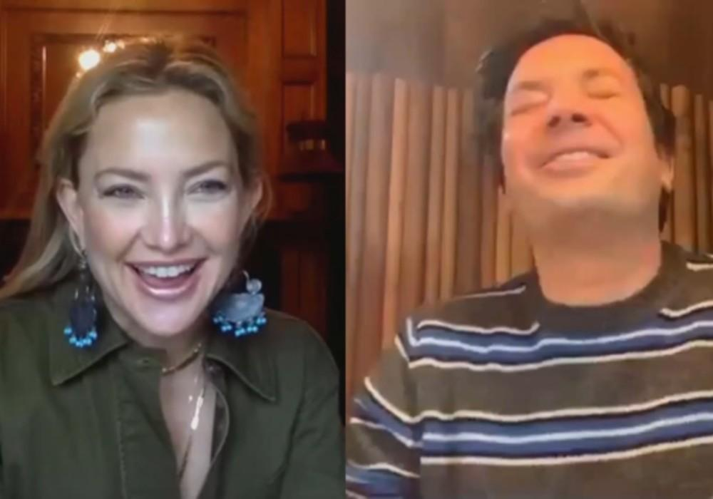Kate Hudson Tells Jimmy Fallon She Was Interested In Dating 20 Years Ago, But He Blew The Opportunity