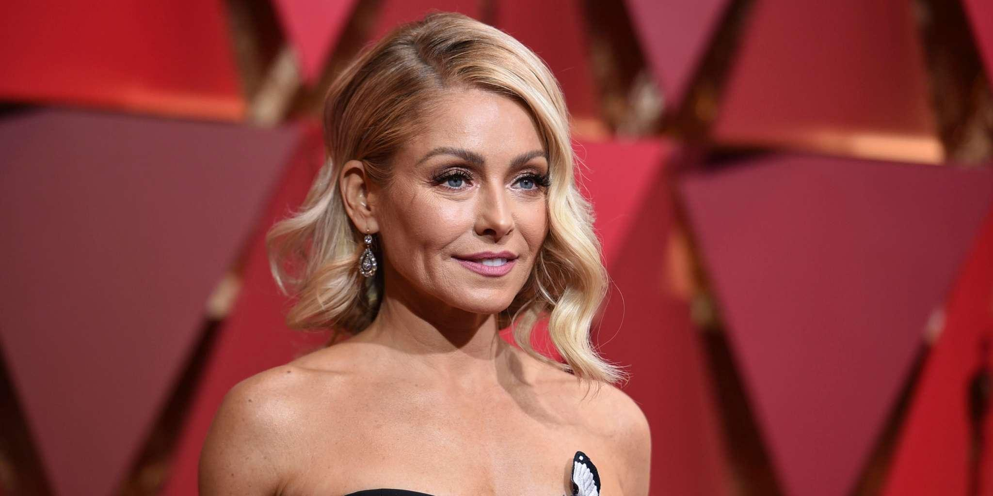 Kelly Ripa Admits To Cutting Her Hair With Kitchen Scissors And Opens Up About Her Grey Hair During Quarantine!