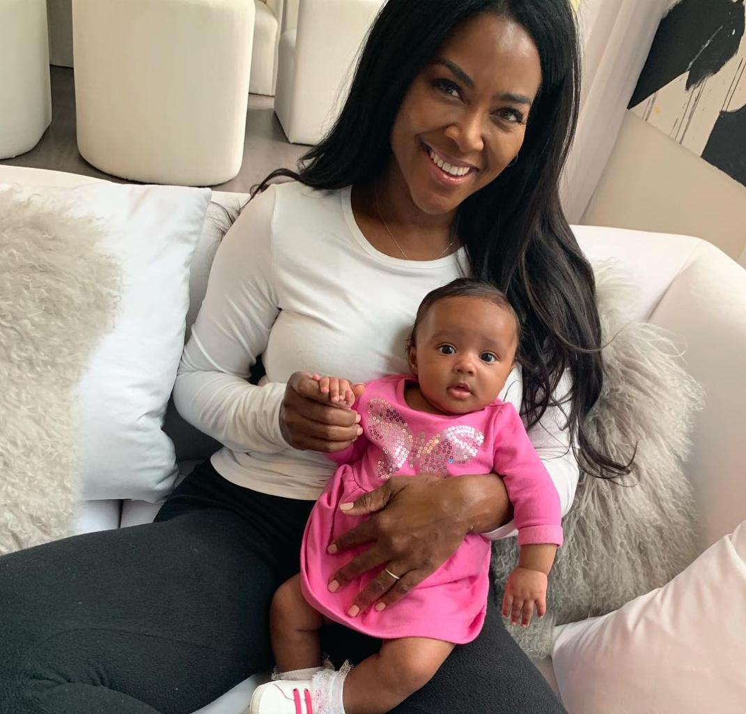 Kenya Moore And Marc Daly Are The Proudest Parents - Watch The Latest Video Of Baby Brooklyn