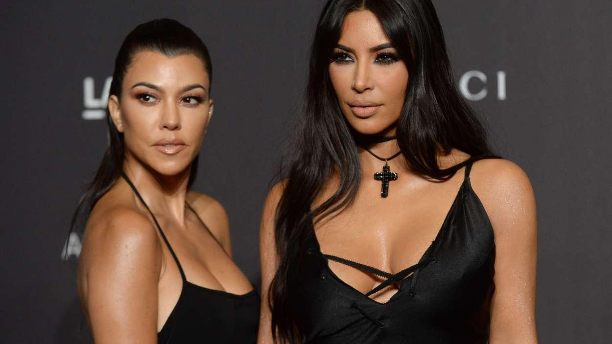 Kim Kardashian And Kourtney's Feud Continues - But Khloe Is Caught In The Aftermath