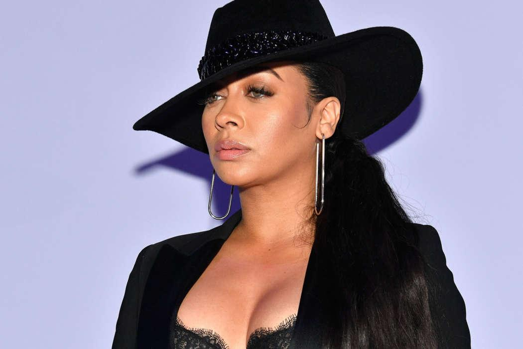 La La Anthony Says She's Very Concerned About 'Getting Used To' Quarantine Life