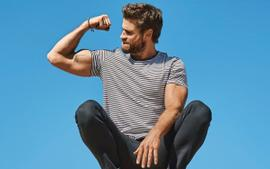 Liam Hemsworth Shows Off His Muscles As He Covers Men's Health