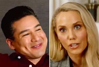 Mario Lopez & Elizabeth Berkley Reunite For First Saved By The Bell Reboot Promo
