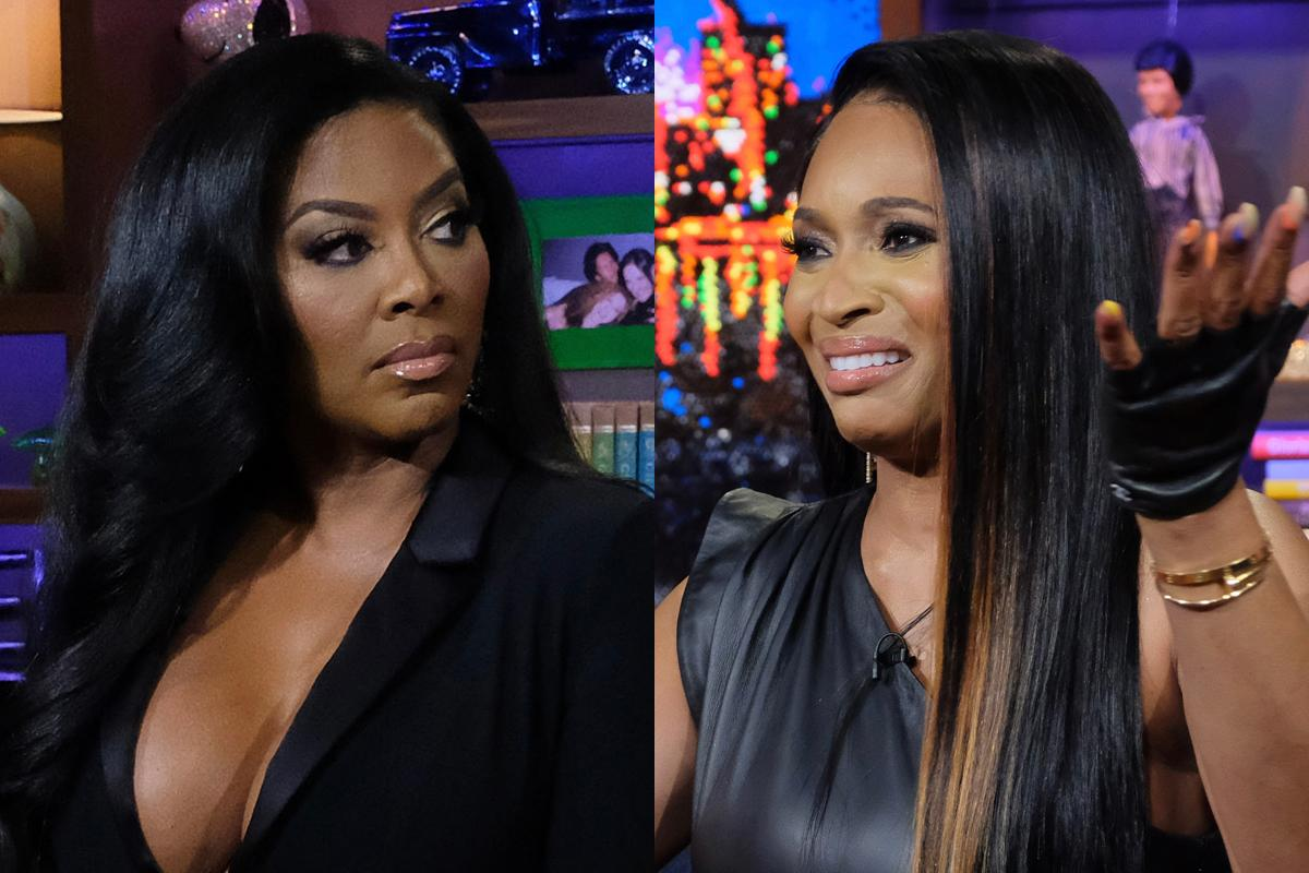 Marlo Hampton Says Kenya Moore Always Crosses The Line During Fights With The Other RHOA Ladies!