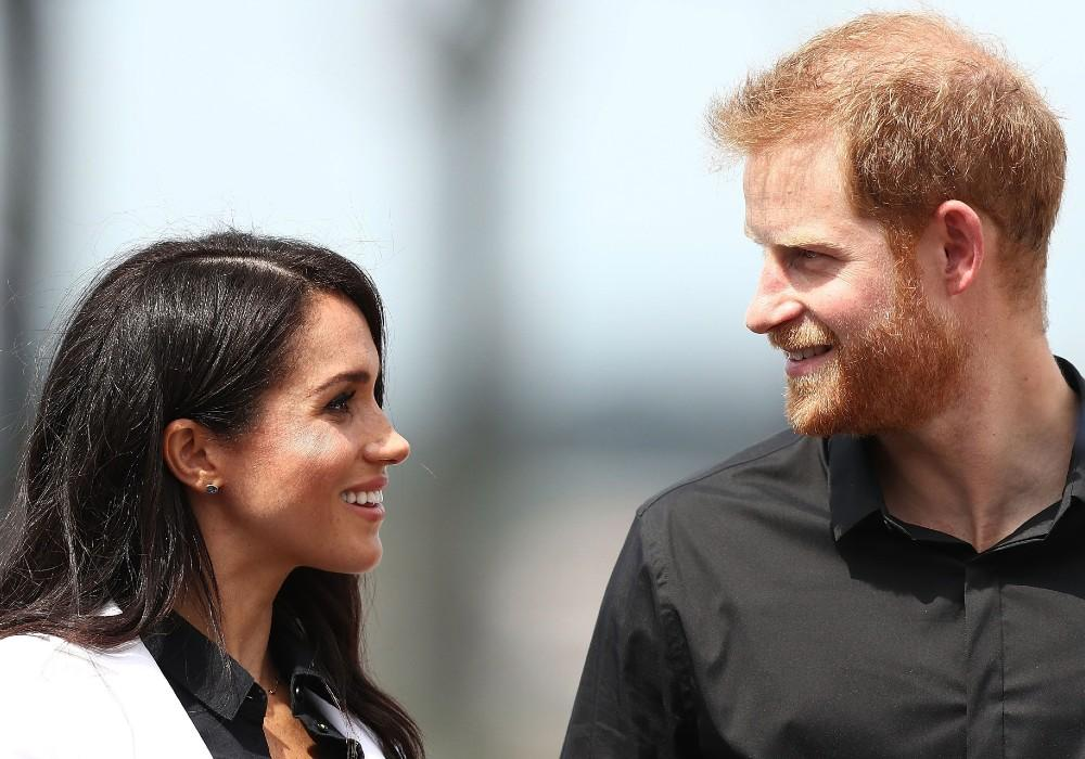 Prince Harry & Meghan Markle Spotted In LA Holding Hands While Delivering Meals For Project Angel Food