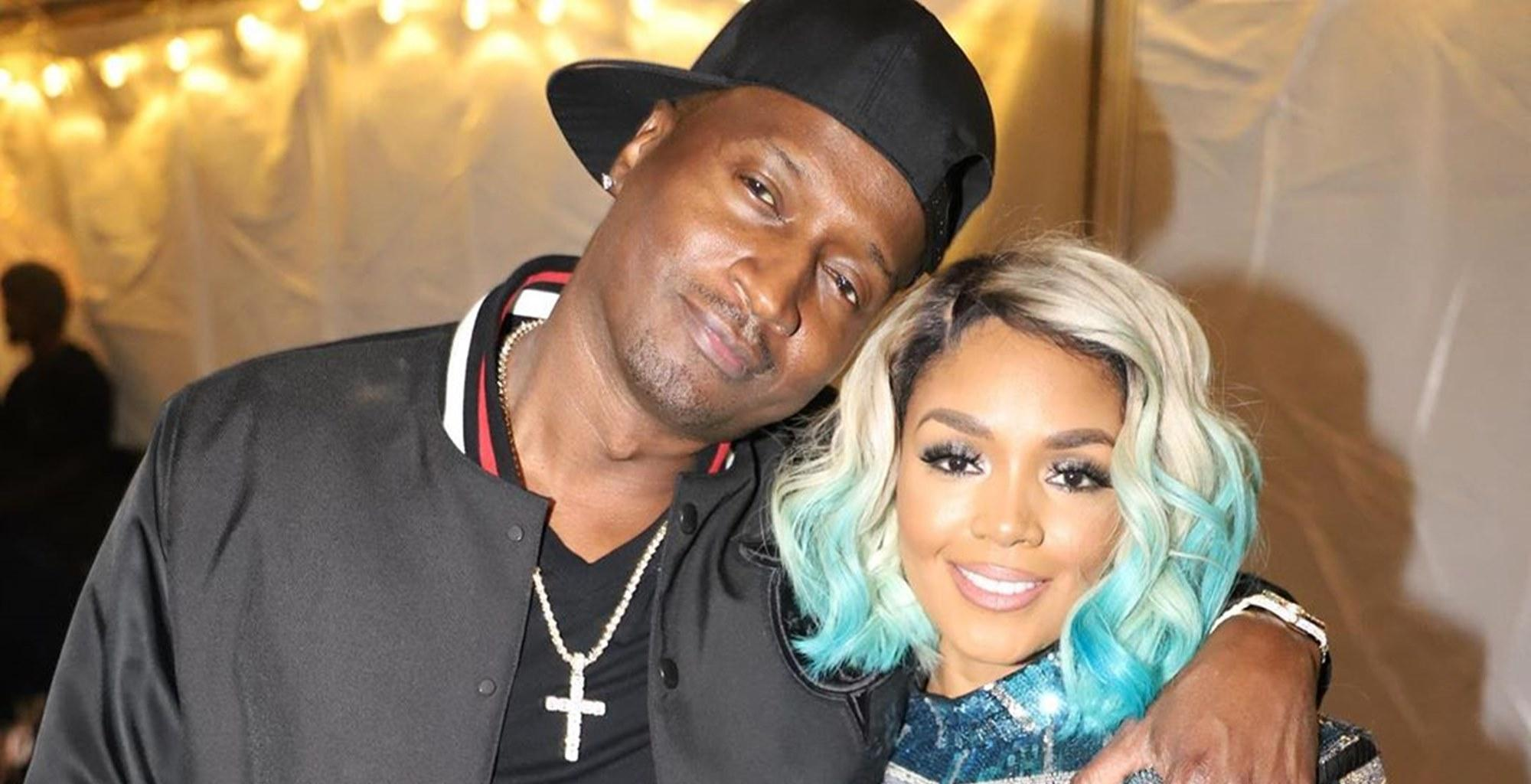 Rasheeda Frost Puts Her Stunning Figure On Full Display In Black Bathing Suit In Video Where She Is Pushed By Husband Kirk Frost In Their Freezing Pool While In Quarantine