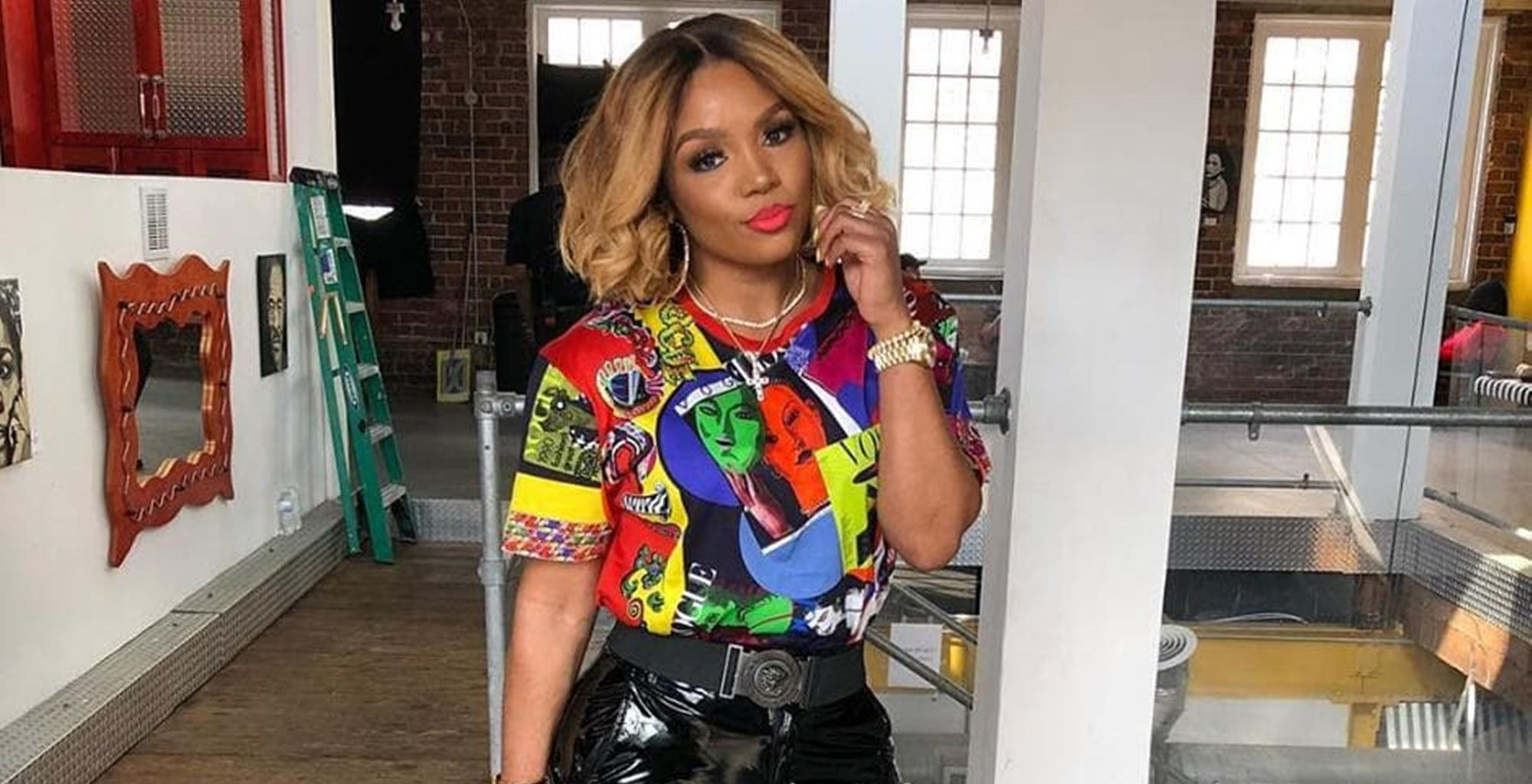 Rasheeda Frost Is Doing More Than Cooking In The Kitchen With Husband Kirk In New Lovey-Dovey Video