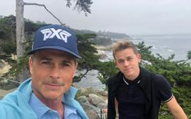 Rob Lowe Is Extremely Proud Of Son Chad Lowe As He Celebrates Two Years Of Sobriety