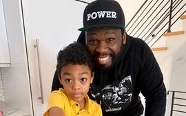 50 Cent's Girlfriend, Cuban Link, Is Dragged For Making This Comment After He Shared These Photos With His Son