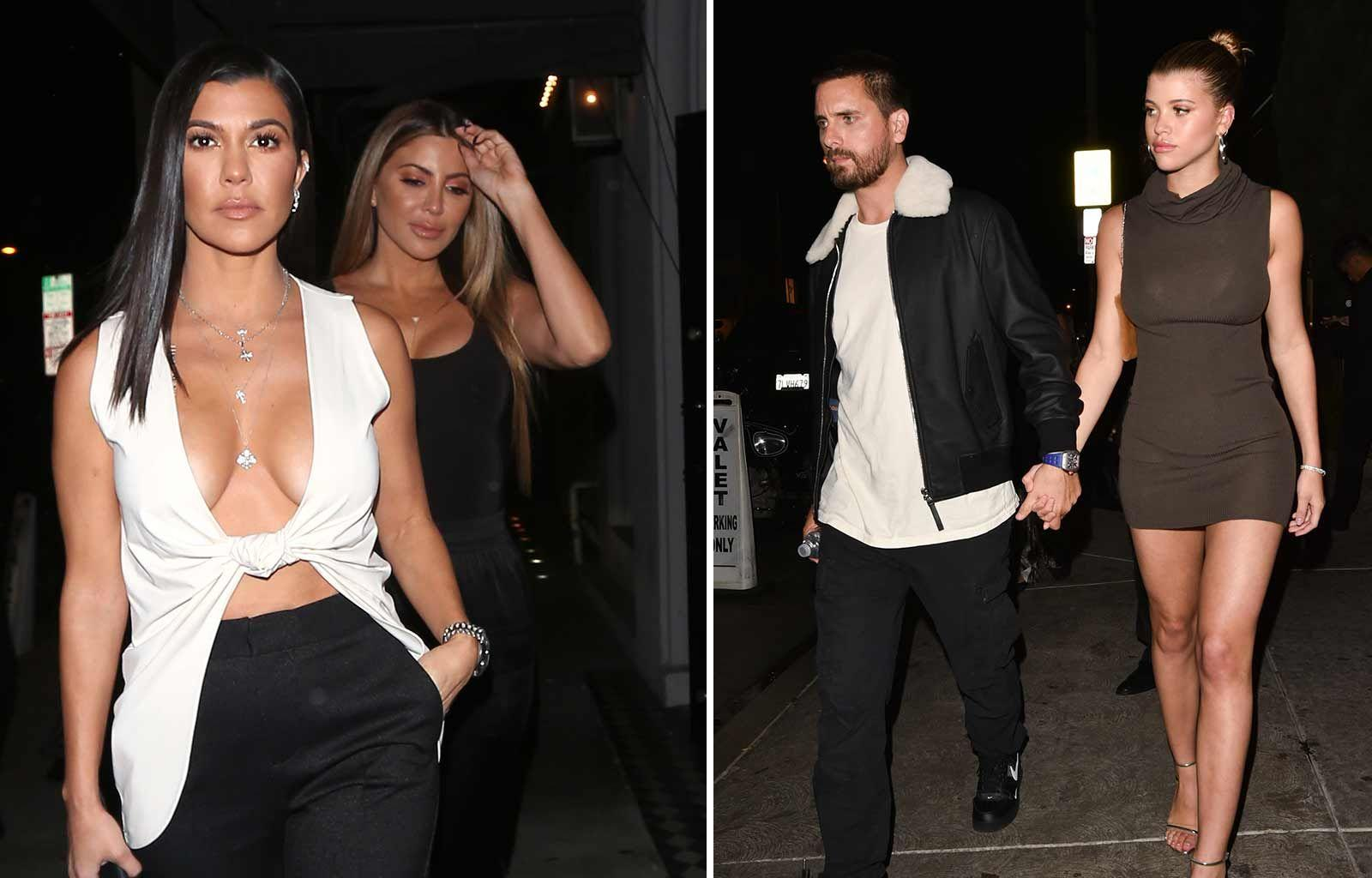 KUWK: Here's How Sofia Richie Feels About Scott Disick Being With Ex Kourtney Kardashian On Her B-Day Weekend!