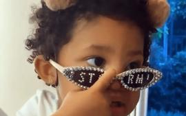 Stormi Webster Rocks Designer Sunglasses As The Little Fashionista Follows In Her Mother's Kylie Jenner's Footsteps
