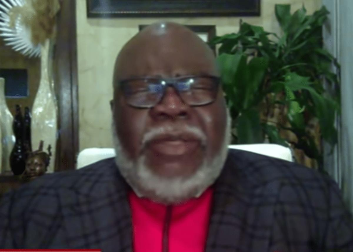 Bishop T.D. Jakes Prays For America On MSNBC As Coronavirus Pandemic Brings More People To Faith In God