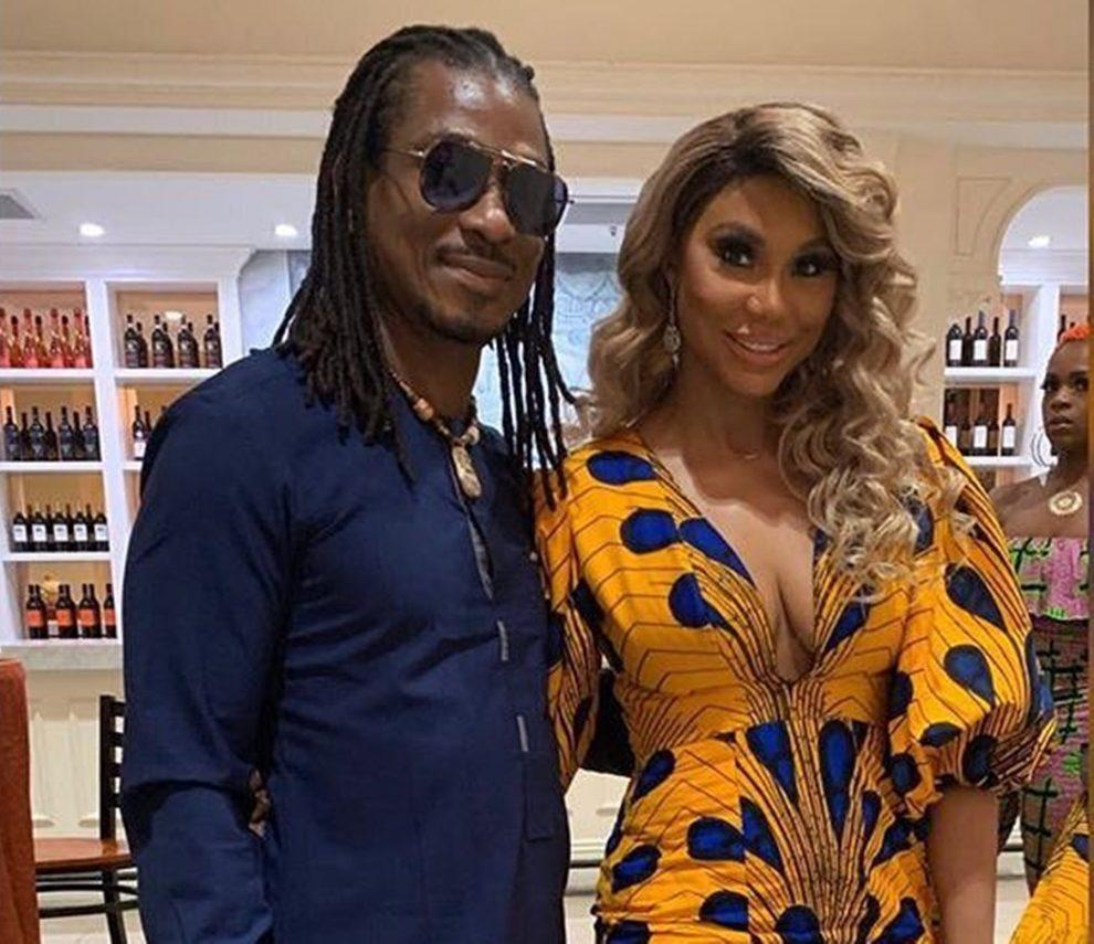 Tamar Braxton's BF David Adefeso Teaches People How To Make More Money And What To Look For When Buying Stocks