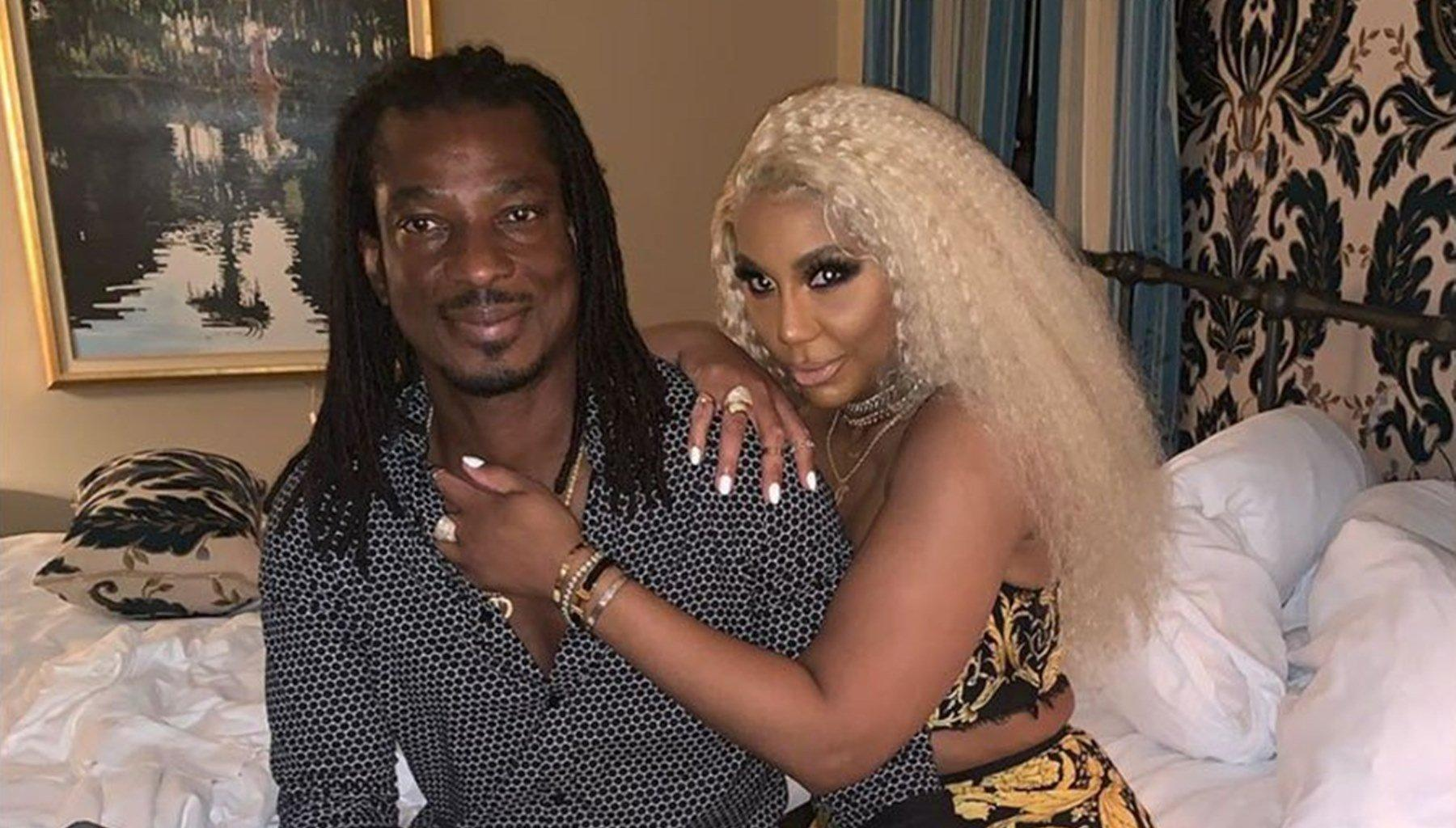 Tamar Braxton And Boyfriend David Adefeso Have A Special Guest On Their 'Quarantined And Coupled' Series: 'Leave Your Shame At The Door'