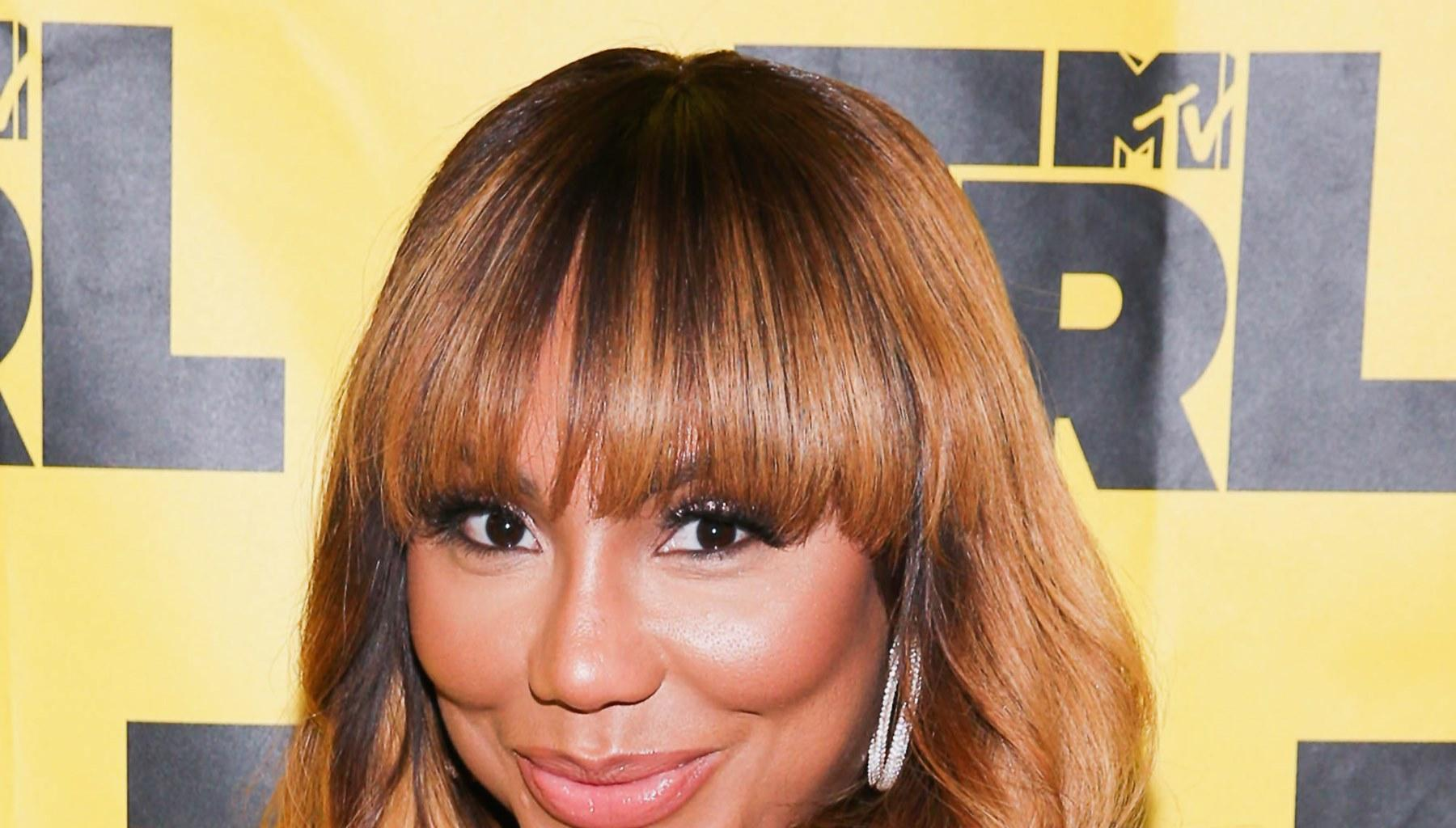 Tamar Braxton's Son, Logan Herbert, Has Her Screaming For Help In New Video For This Reason