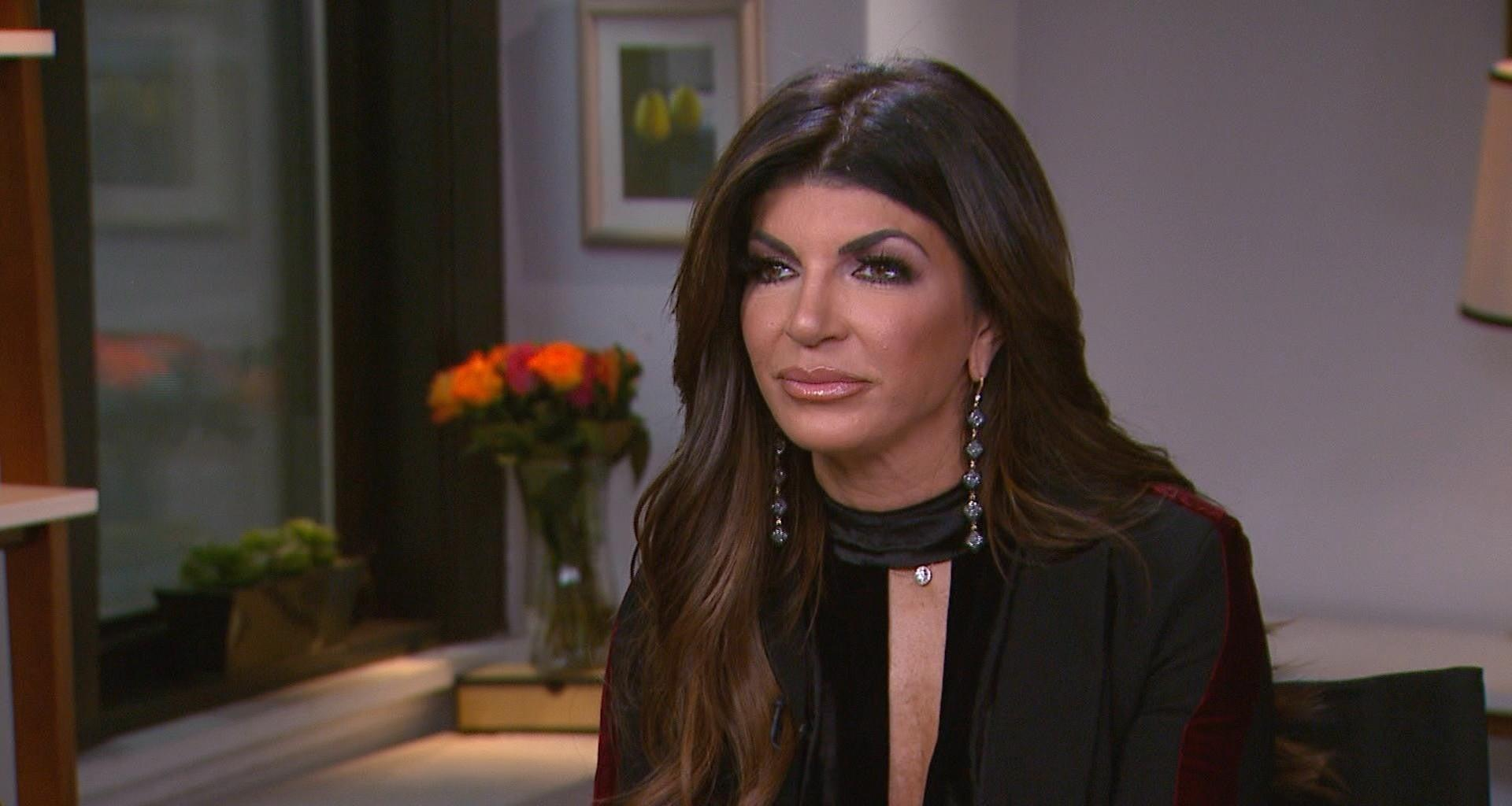 Teresa Giudice Leaning On Her Family After Dad's Passing - She's 'Devastated' But Happy He's Done Suffering!