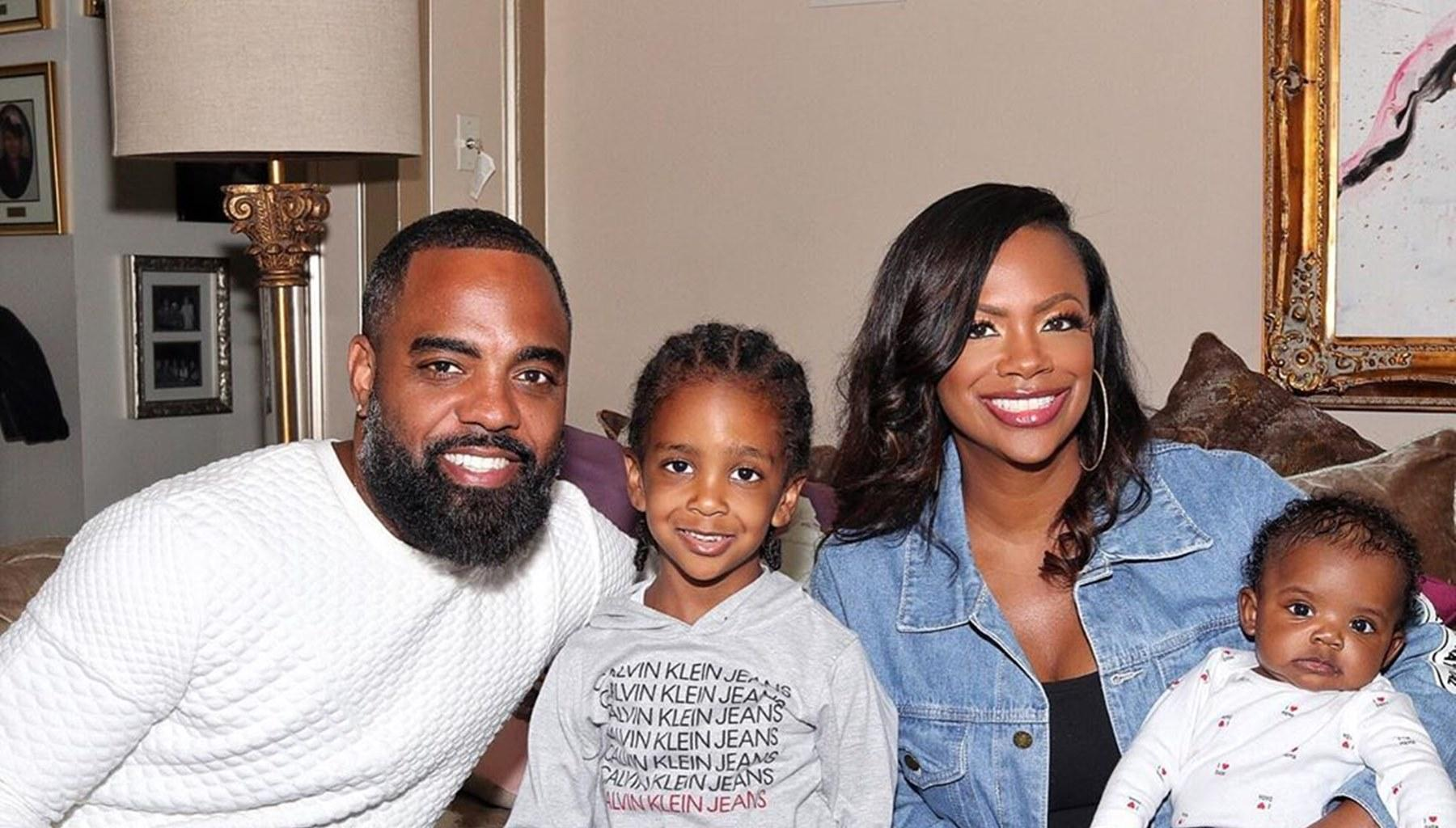 Kandi Burruss' Photo Featuring Todd Tucker, Ace And Blaze Makes Fans' Day