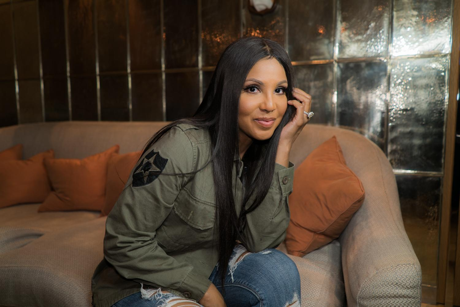 Toni Braxton Reveals Fans What Her Calming Routine Includes