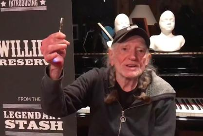 Willie Nelson Hosts Cannabis Legalization Fundraiser 'Come And Toke It' On 4/20
